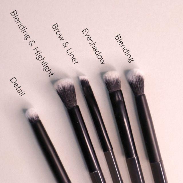 Helle Eyeshadow Brush Set
